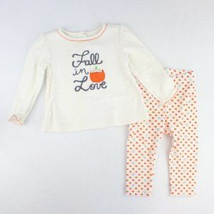 Gymboree 2 Piece Fall Outfit Baby Girl Size 12-18